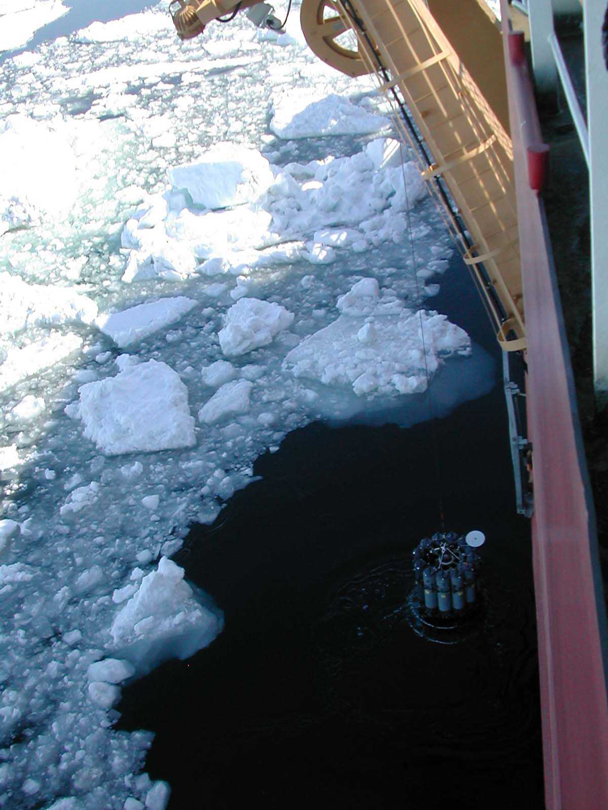 Ctd in ice